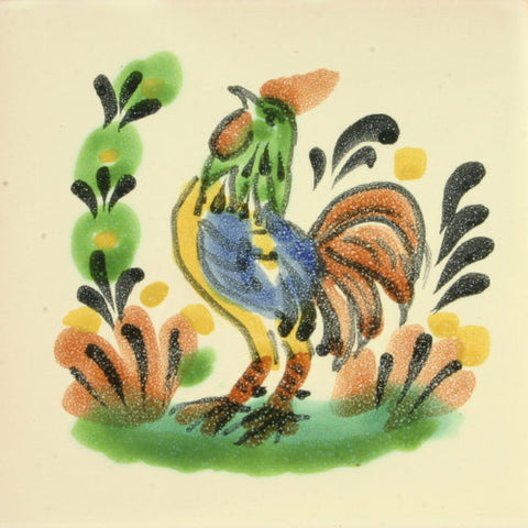 Gorky Gonzales Mexican rooster tile