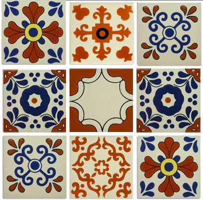 Classic Designs Talavera Ceramic Tile Collection