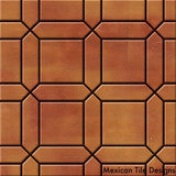Dijon pattern saltillo tile