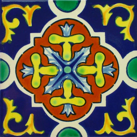 Porcelain Mexican Tile - Dolores