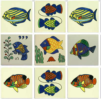 Fish designs Ceramic tile collection