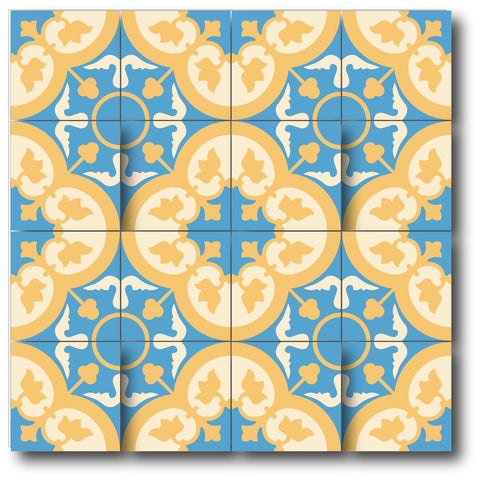 HIDALGO ENCAUSTIC CEMENT TILE