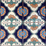 Mexican tile array Platero