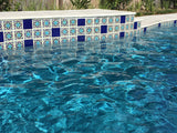 Decorative pool tile