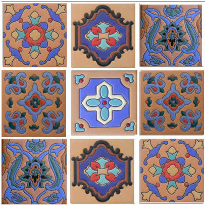 Ceramic Tile Relief Designs