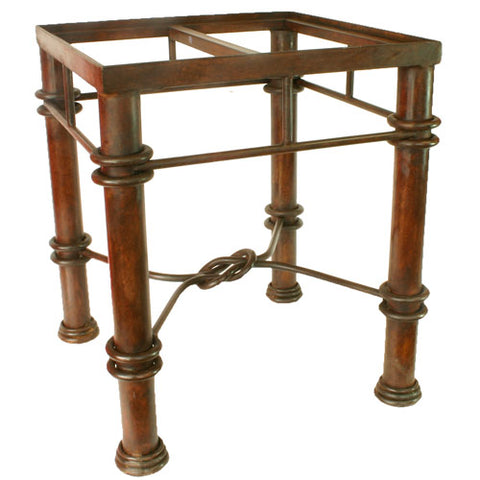 Mexican Tile Wrought Iron Table