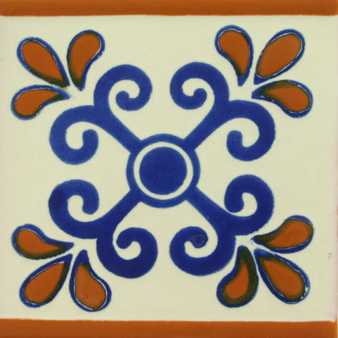 Ceramic Mexican decorative tile