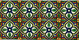 decorative ceramic Mexican tile