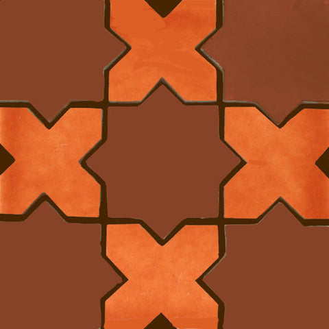 Especial Mexican Tile - STAR & CROSS