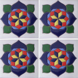 Flower Mexican Tile