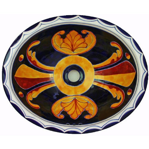 decorative Mexican ceramic sink