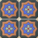 Raised relief Malibu tile pattern