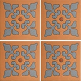 Mission stile terra cotta tile