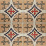 raised relief tile pattern