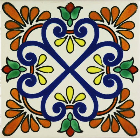 Porcelain decorative Mexican tile