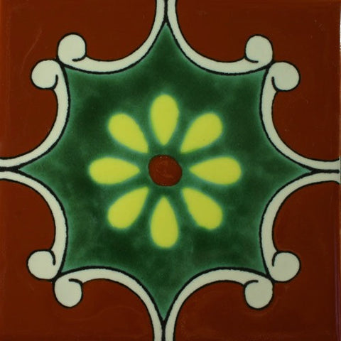 Porcelain decorative Mexican pool tile