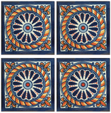 Traditional Mexican Tile - Cuerda