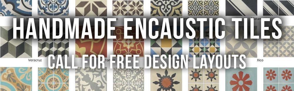 Cement TIles at Mexican TIle Designs