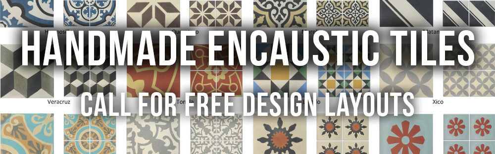Mexican Handmade Encaustic Tiles