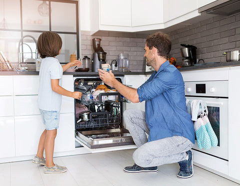 How to clean your dishwasher naturally