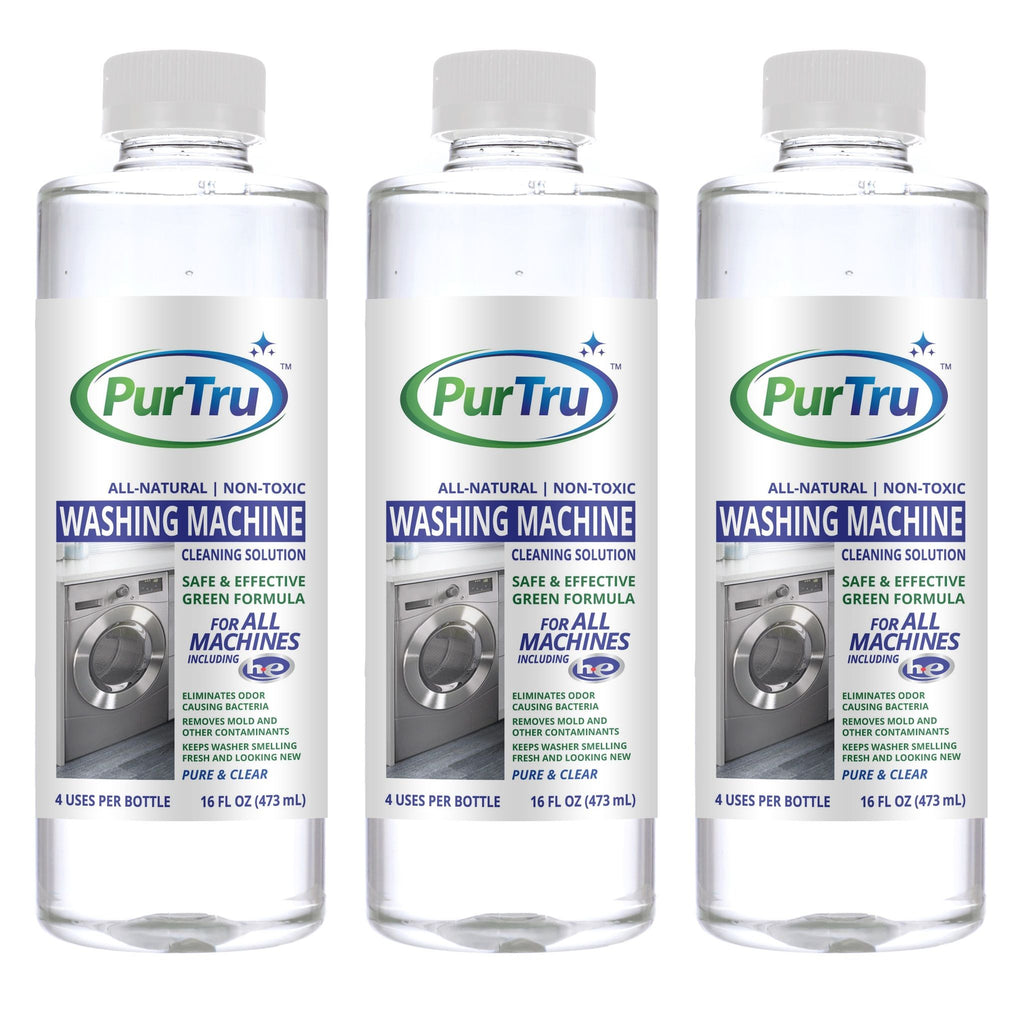 Washing Machine Cleaning and Sanitizing Solution (3 Pack)