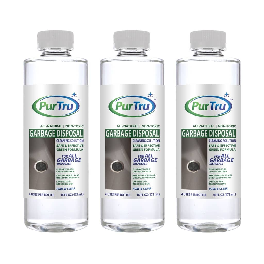 Garbage Disposal Deodorizing and Cleaning Solution (3 Pack)