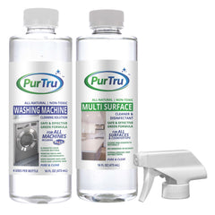 Washing Machine and Multi Surface Sanitizing and Cleaning Solution Bundle
