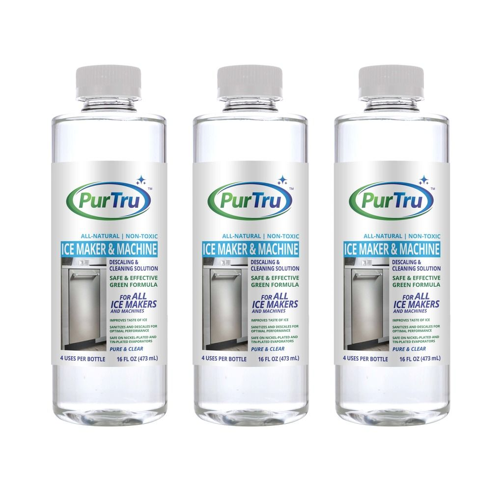 Ice Maker & Machine Cleaning and Descaling Solution (3 Pack)