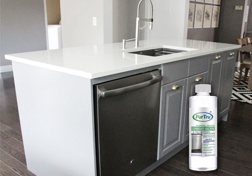 Dishwasher Machine Descaling and Cleaning Solution