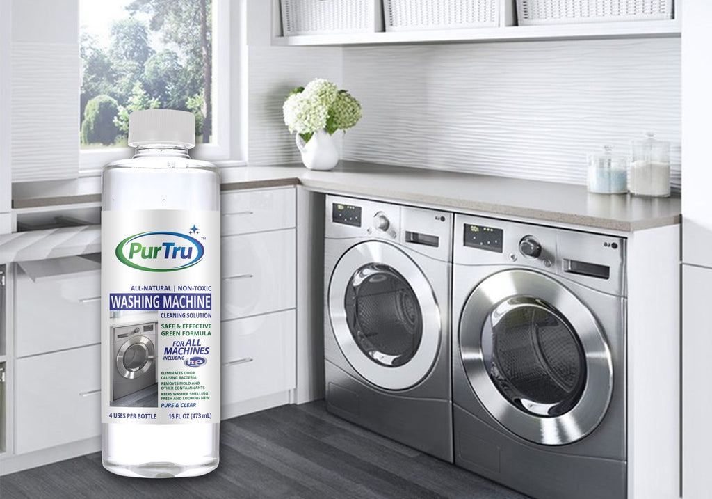 Dishwasher and Washing Machine Sanitizing and Cleaning Solution Bundle (2 Pack)