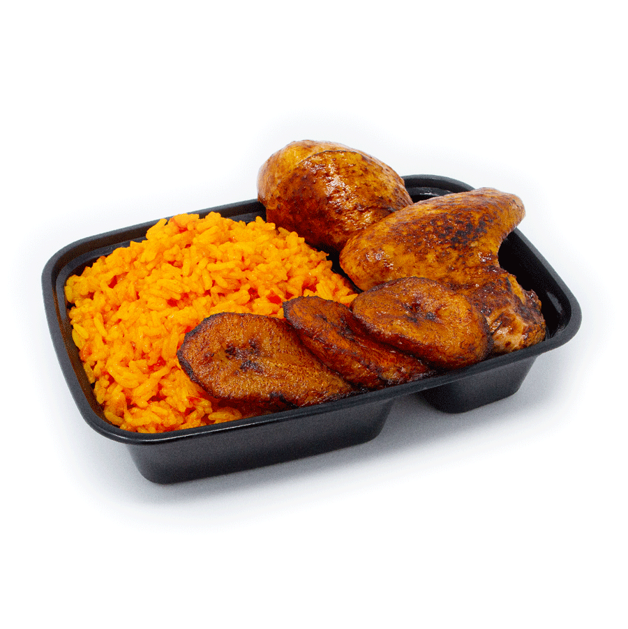 Jollof Rice and Fried Chicken | $16.99