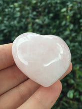 Load image into Gallery viewer, Rose Quartz Pink Heart Shaped Stone