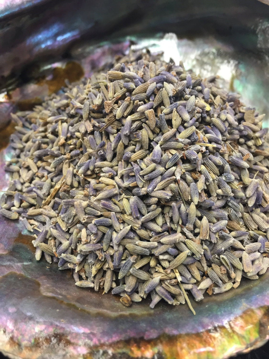 Lavender Loose Purple Buds 1 oz Herbal Cotton Sachet for Relaxation