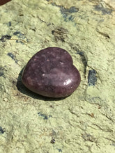 Load image into Gallery viewer, Lepidolite Mica Polished Stone Heart Healing Crystal