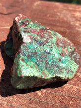 Load image into Gallery viewer, Turquoise Raw Blue Long Arizona Crystal Rock