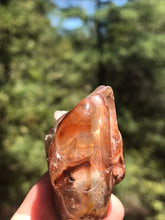 Load image into Gallery viewer, Angel Phantom Quartz Amphibole Tumbled Crystal Rock Stone