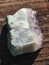 Load image into Gallery viewer, Amethyst Cluster Slab Natural Raw Purple Quartz