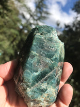 Load image into Gallery viewer, Apatite Raw Natural Aqua Blue Crystal
