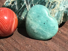 Load image into Gallery viewer, Amazonite Turquoise-Green Feldspar Heart
