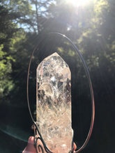 Load image into Gallery viewer, Hanging Quartz Crystal Raw