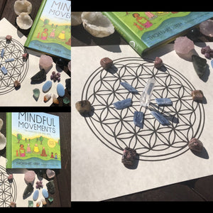 Kid's Mindfulness Kit With Flower of Life