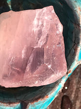 Load image into Gallery viewer, Rose Quartz Deep Pink Raw Stone Crystal