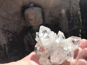 Zeolite Raw Crystal Clear Mineral Formation