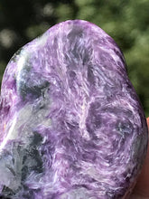 Load image into Gallery viewer, Charoite Purple Polished Freestanding Chunk Stone Crystal