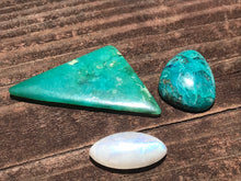 Load image into Gallery viewer, Amazonite Turquoise-Green Feldspar Rock Cabochon