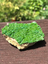 Load image into Gallery viewer, Pyromorphite from Germany In Matrix Raw Green Rock Formation