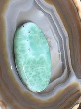 Load image into Gallery viewer, Larimar Blue Cabochon Pectolite Dolphin Stone