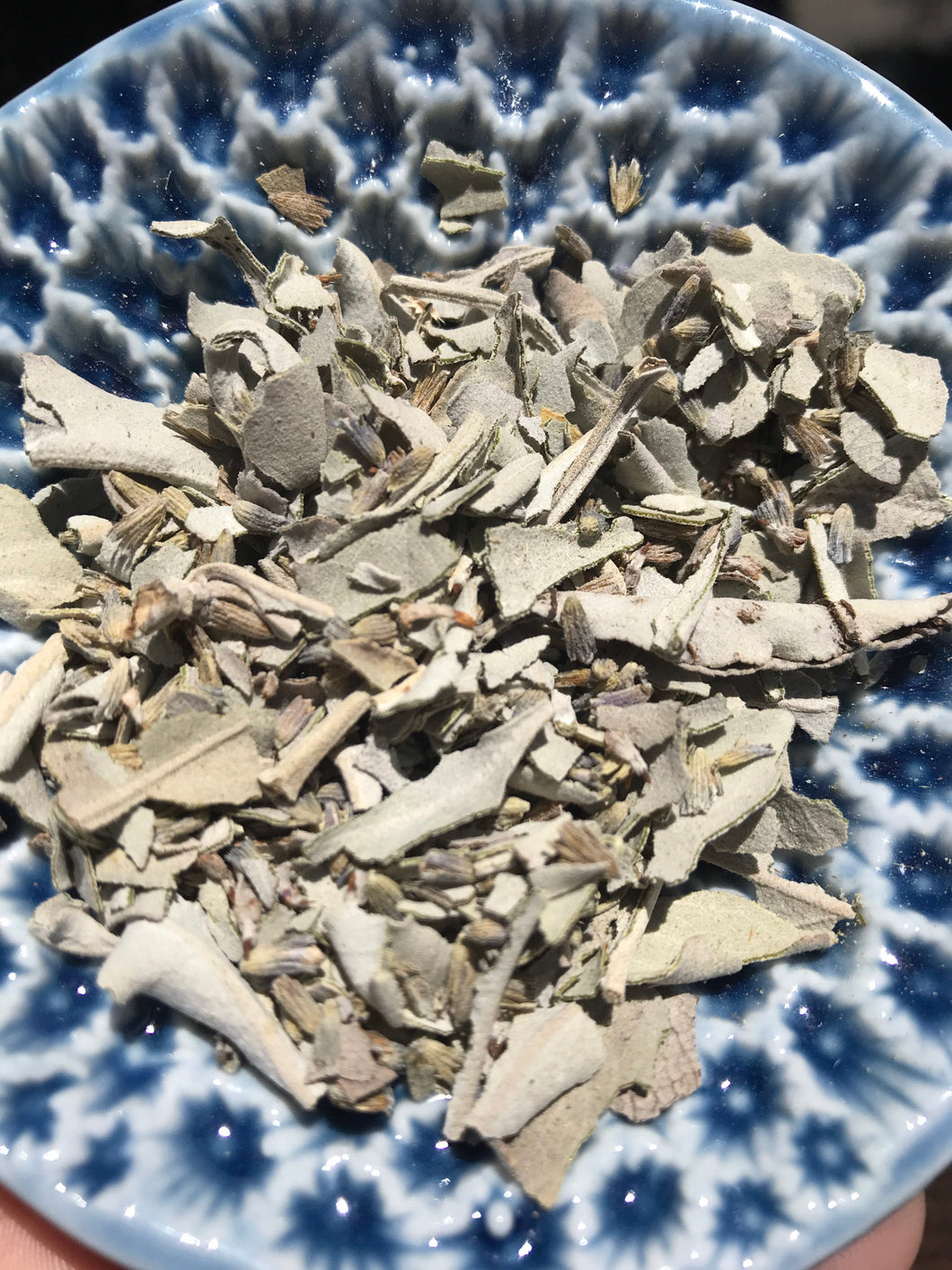 Lavender and Sage Blend Dried Leaf Ceremonial Herb
