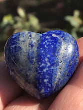Load image into Gallery viewer, Lapis Lazuli Heart Shaped Stone