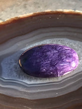 Load image into Gallery viewer, Charoite Cabochon Purple Polished Stone
